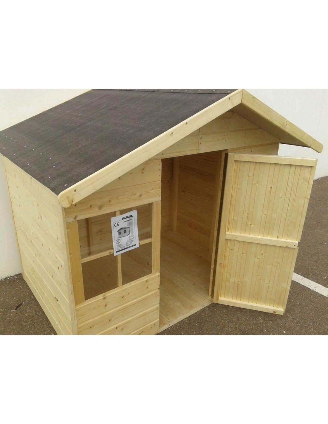 Casita madera infantil balu for Casitas de madera para ninos precios