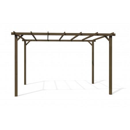 Pérgola de madera 4 x 3 m