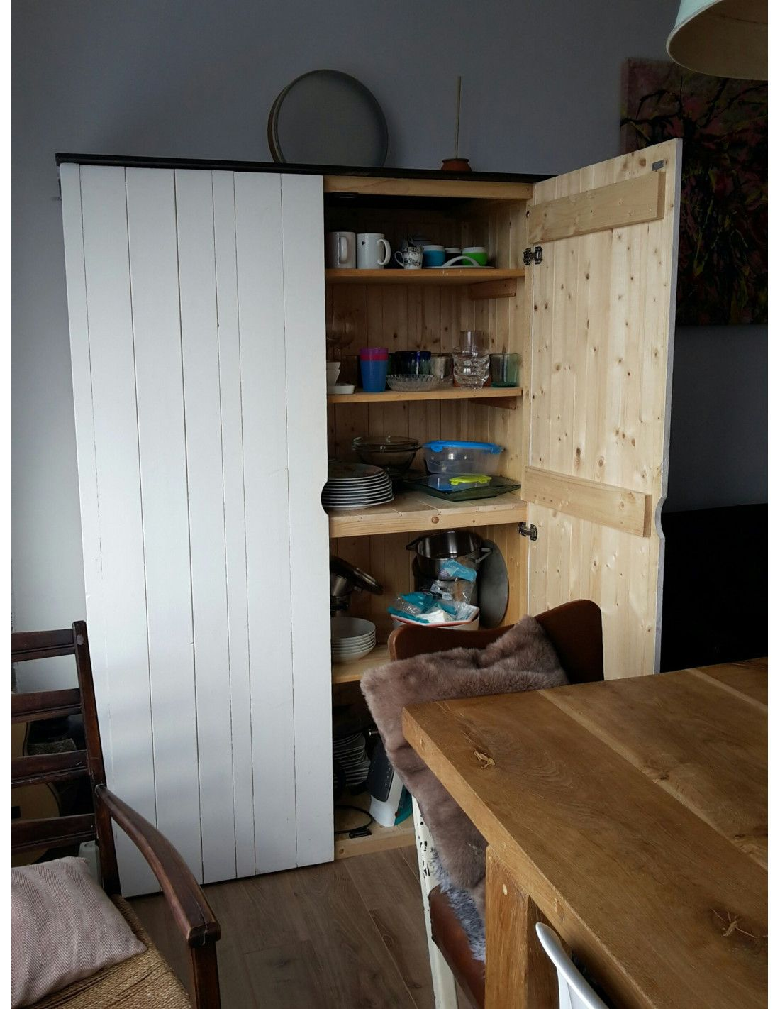 Armarios de madera exterior prefabricados modelo etesio for Armarios de madera para jardin