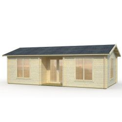 Casa de madera Anna 26,8+1,9 m²