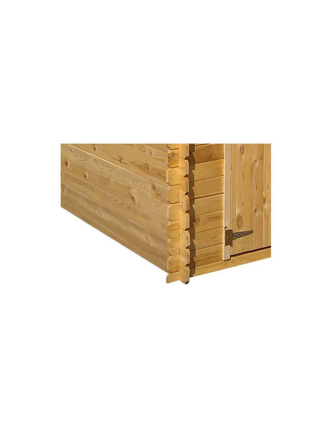 Cobertizo de madera belesa 4 47 m for Madera para cobertizo