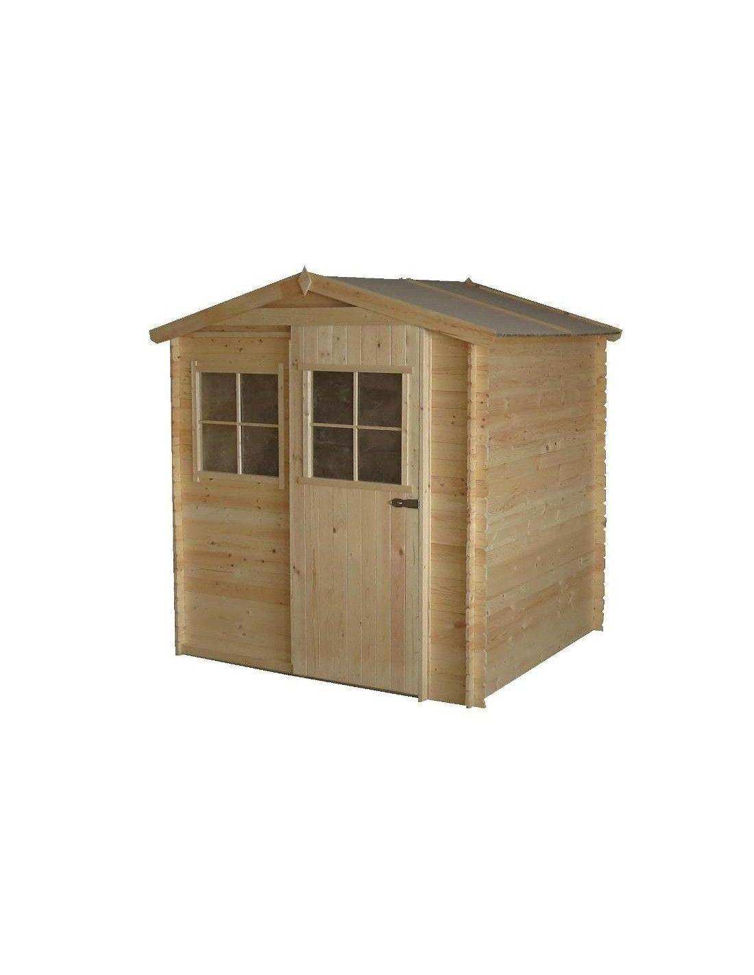 Caseta de madera andrei 3 16m for Cobertizos y casetas