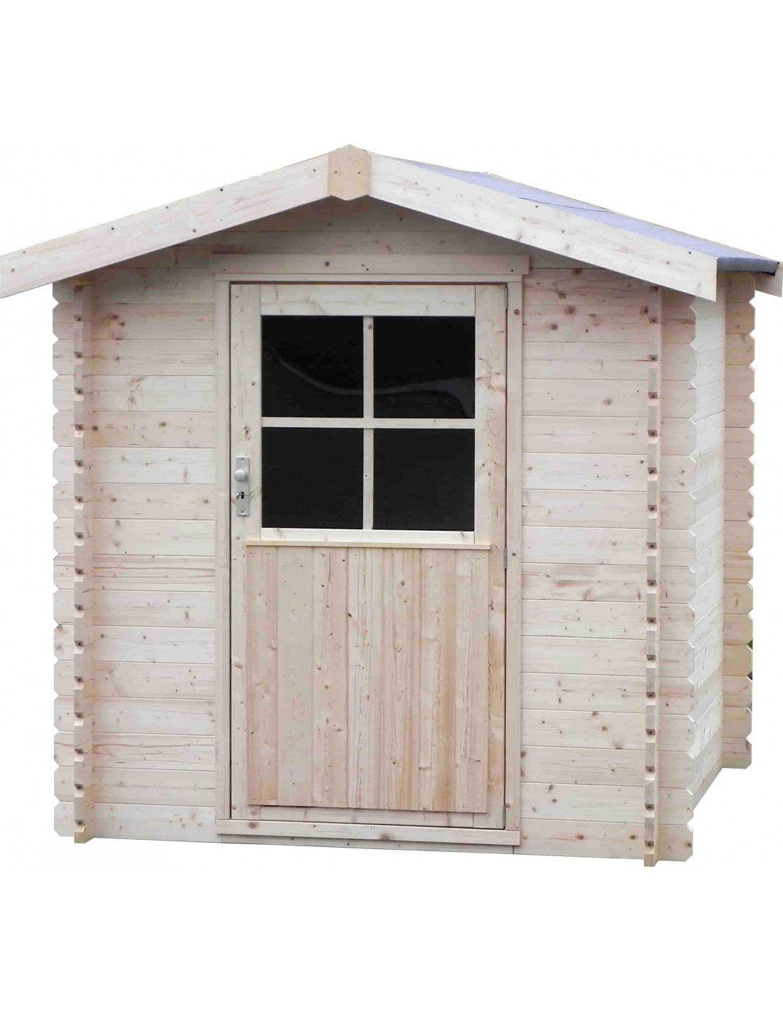 Caseta de madera flosimo 2x2m for Cobertizos y casetas