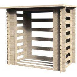 Leñero de madera Bucher