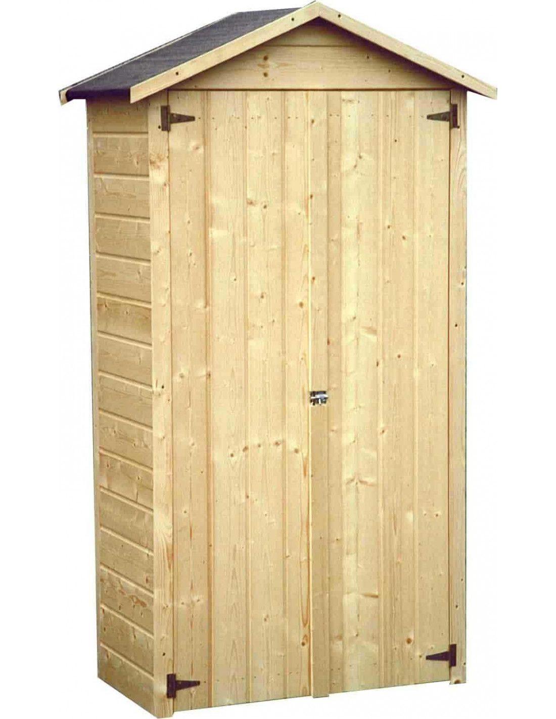 Armarios de exterior armario de madera mod bora 92x51cm - Armarios de madera para jardin ...