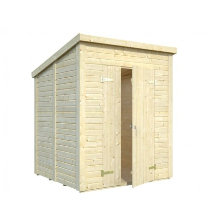 Cobertizo de madera Leif