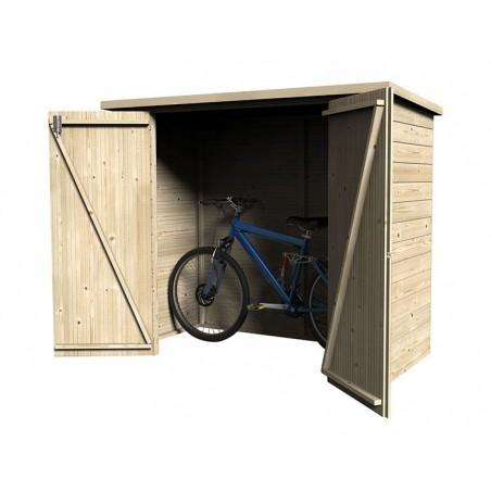 Armario para guardar bicis