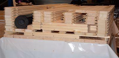 Entrega caseta de madera