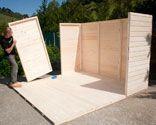 Todo sobre casetas de madera garden hortum for Casetas de madera baratas para jardin brico depot