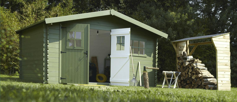 Casetas de madera hortum for Casetas de madera para jardin baratas
