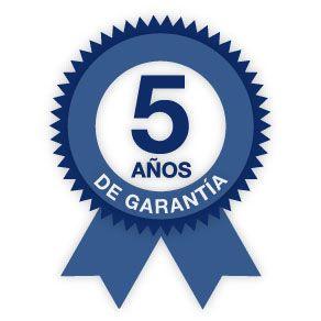 Garantía de 5 años