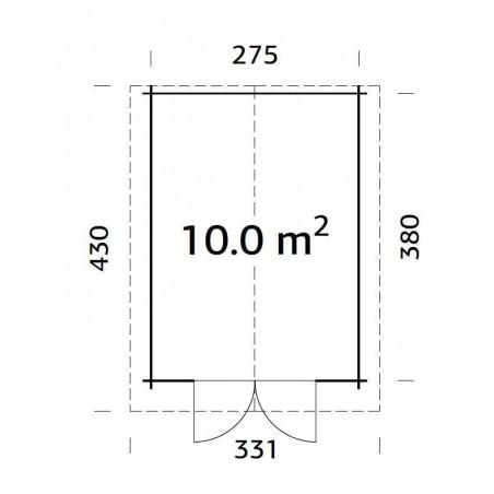 Lotta, 34 mm, 295 x 400 cm.
