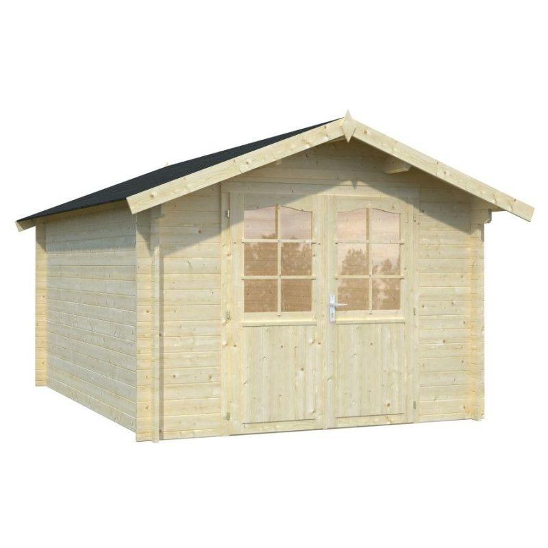 Caseta de madera Lotta, 34 mm, 295 x 400 cm.