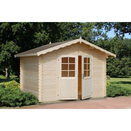 Caseta madera jardin Vivian, 28 mm, 320 x 260 cm. 8.32 m²