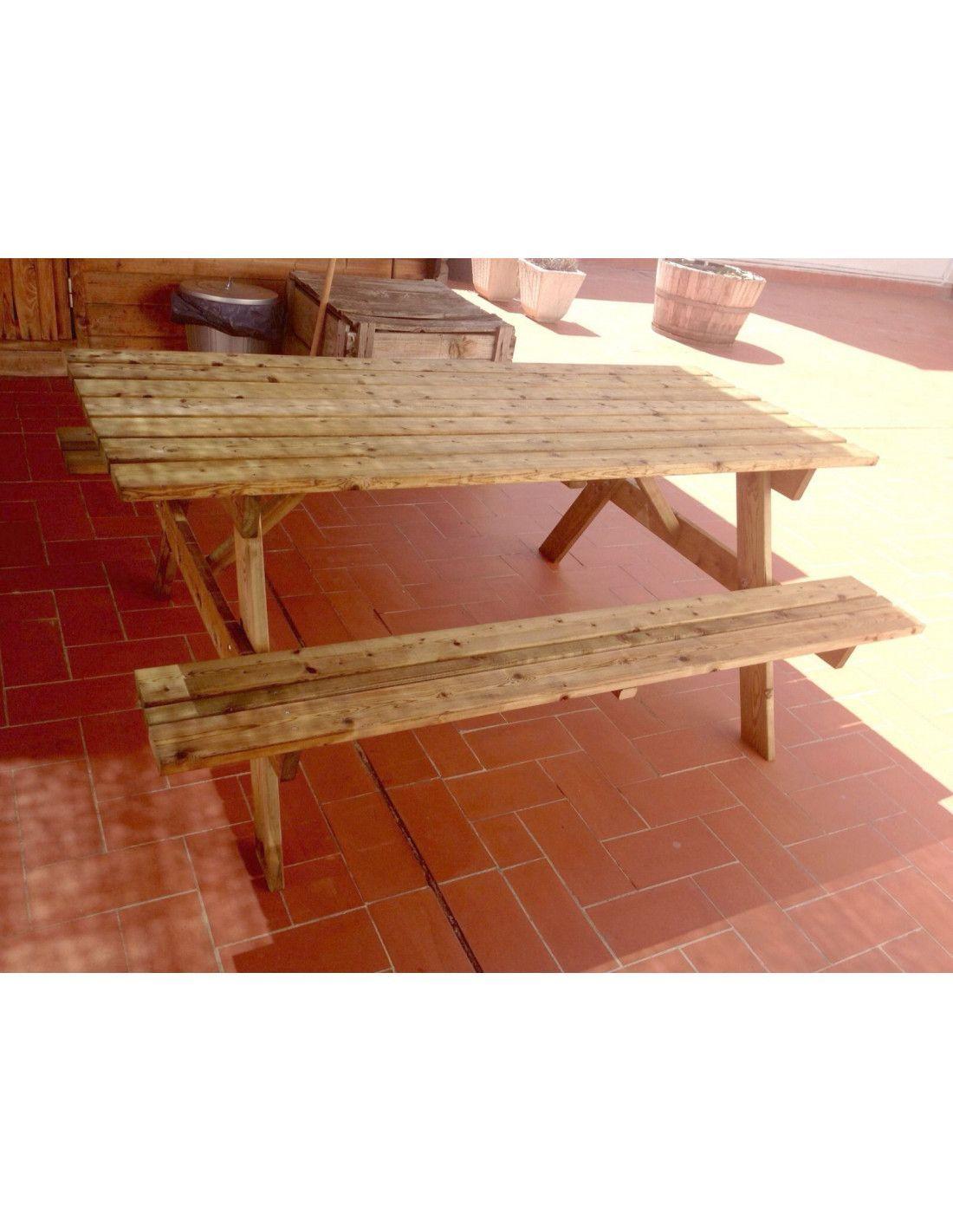 Mesa de madera para jard n - Mesa de madera para jardin ...
