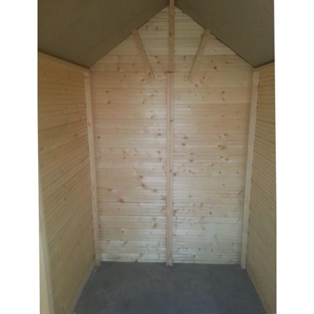 interior caseta de madera Antea