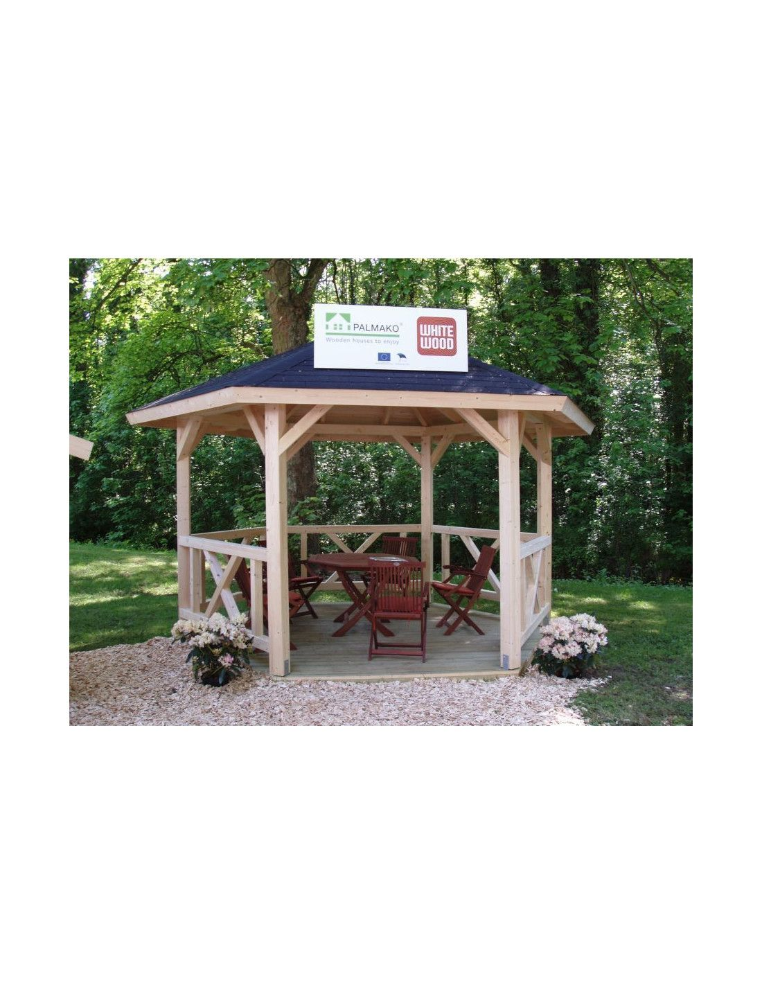 cenador de madera betty cenadores para jardin - Cenadores De Jardin