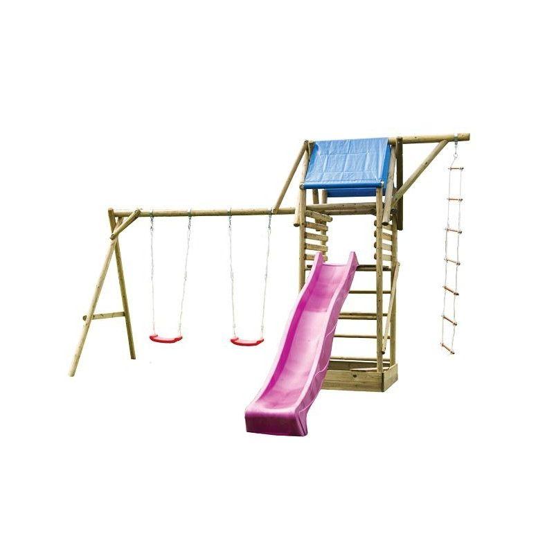 Parque infantil Hugo 3 de 470x195x300cm