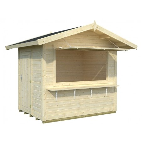 Kiosko de madera Stella 4.3 m²