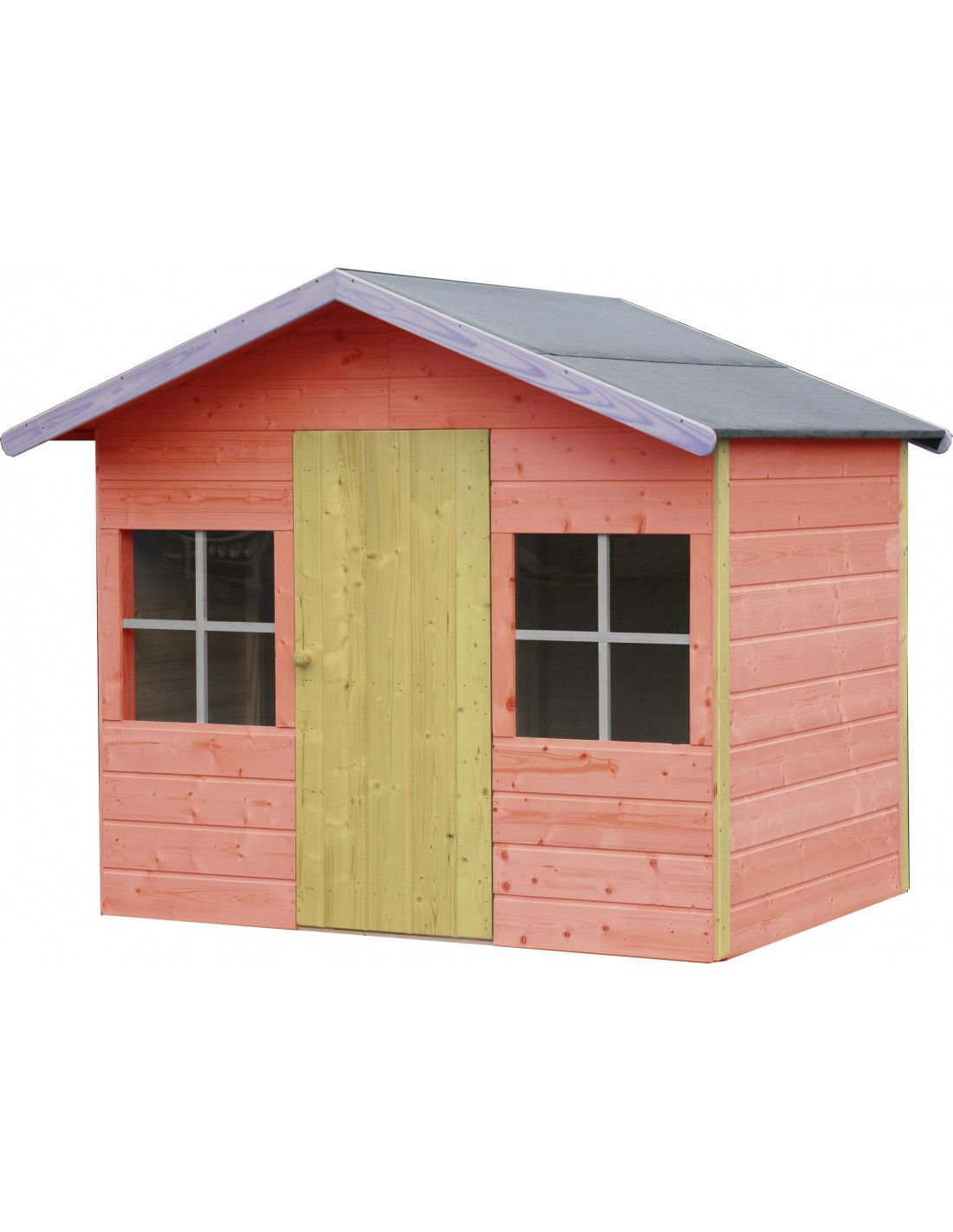 Casita madera infantil balu for Casetas de almacenaje para jardin