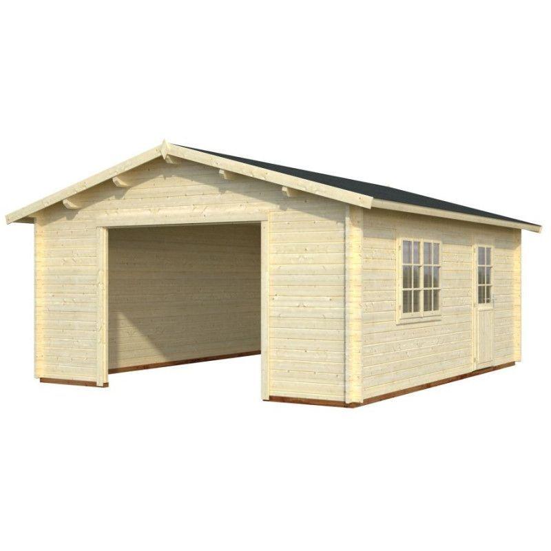 Garaje de madera Tarifa sin puerta