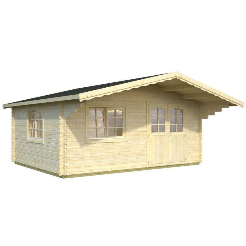 Cabaña de madera Sally 19.1 m²