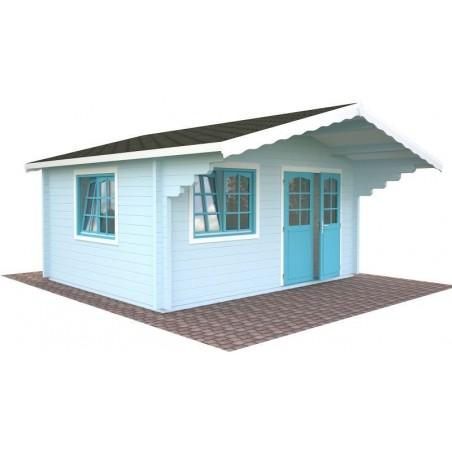 cabaña de madera Helena 15.1 m²