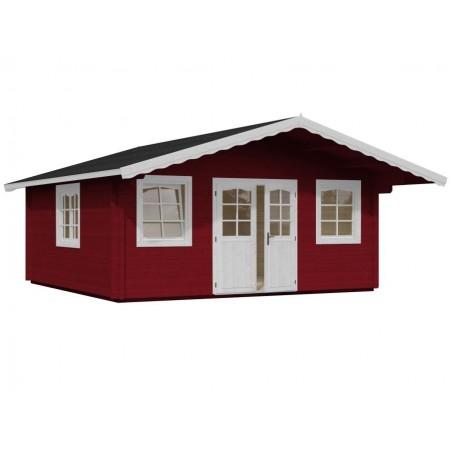 Cabana de madera Helena 24.6 m²