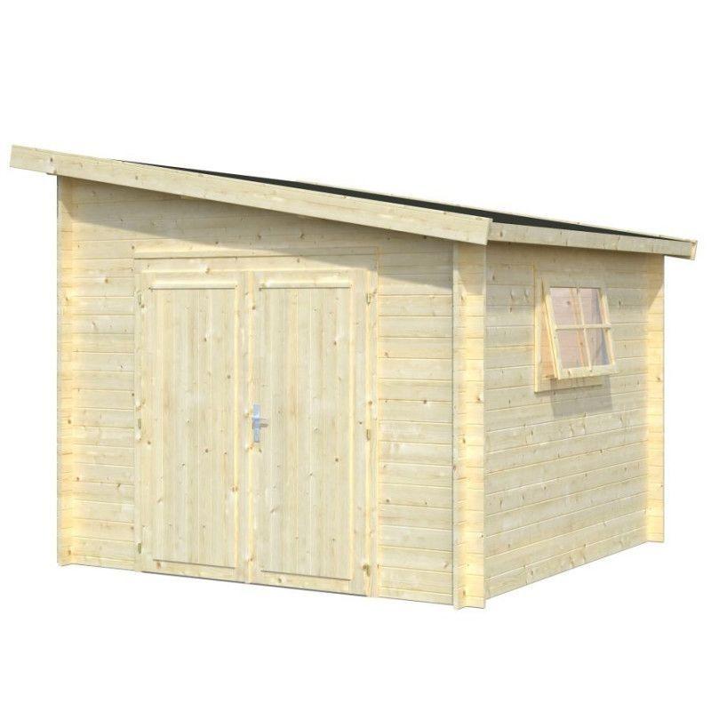 Cabaña de madera Leif 7,3m²