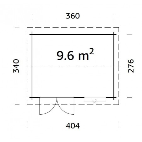 Iris, 28 mm, 380 x 290 cm, 11 m²