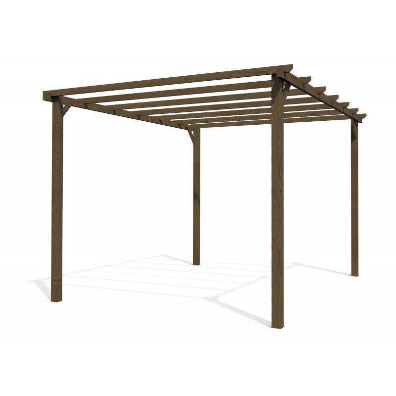 Pérgola de madera 4 x 3 m 30175-T00