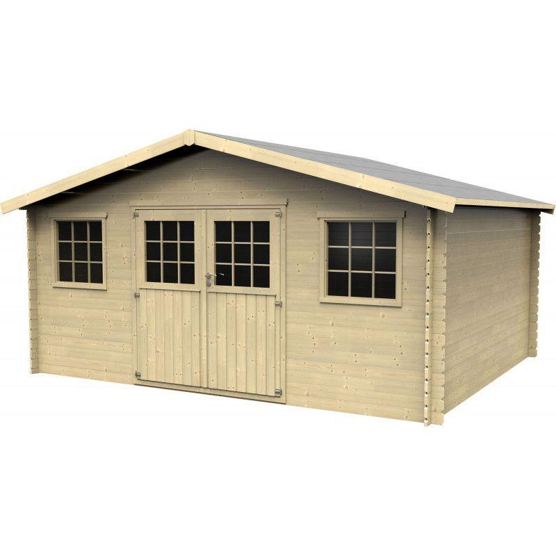 caseta de madera para jardin Mod. Arica