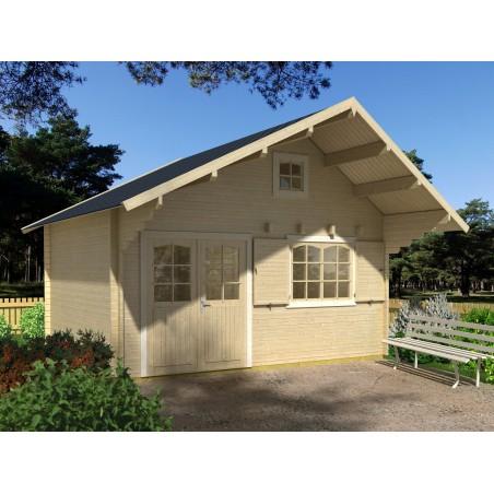 Casa de madera Emily 28.8m²