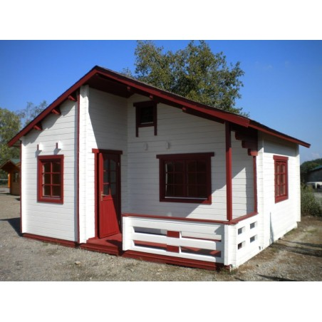 Casa de madera Emily 40.1+5.2m²