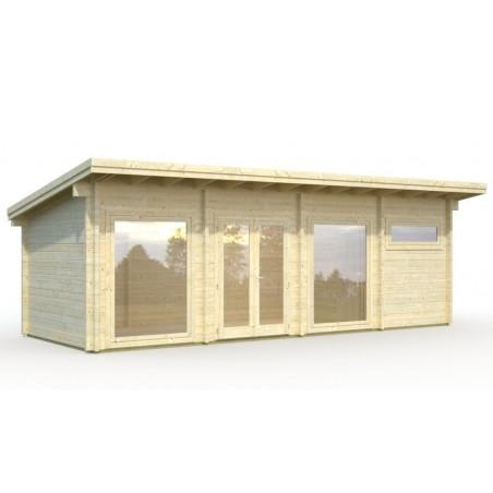 caseta de madera prefabricada Heidi 22,8 m²