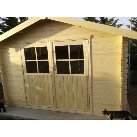 Montaje caseta de madera Flodavil