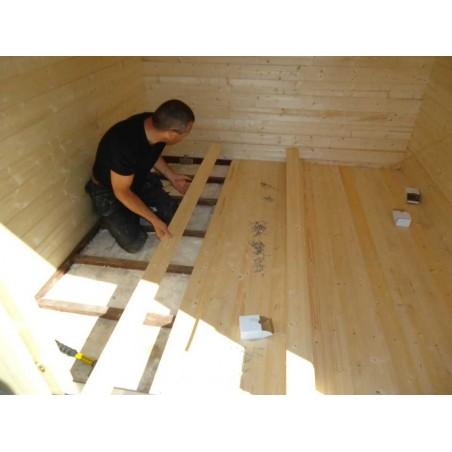 Suelo de madera para Kiosco Stella 5m²