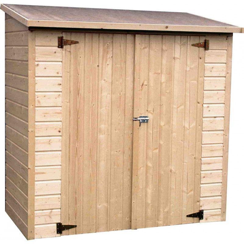 Armario de madera para jardin. Adosado