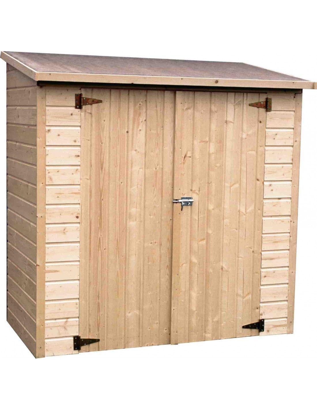 Armario de madera para exterior albecour - Armarios de madera para jardin ...