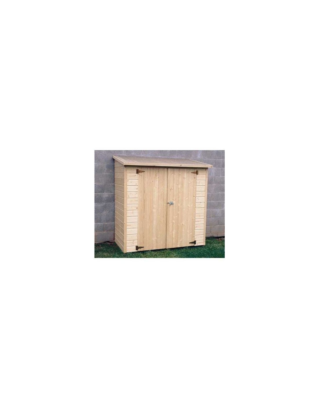 Armario de madera para exterior albecour - Armario madera exterior ...