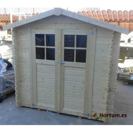 Caseta de madera Milovic 4,37m²