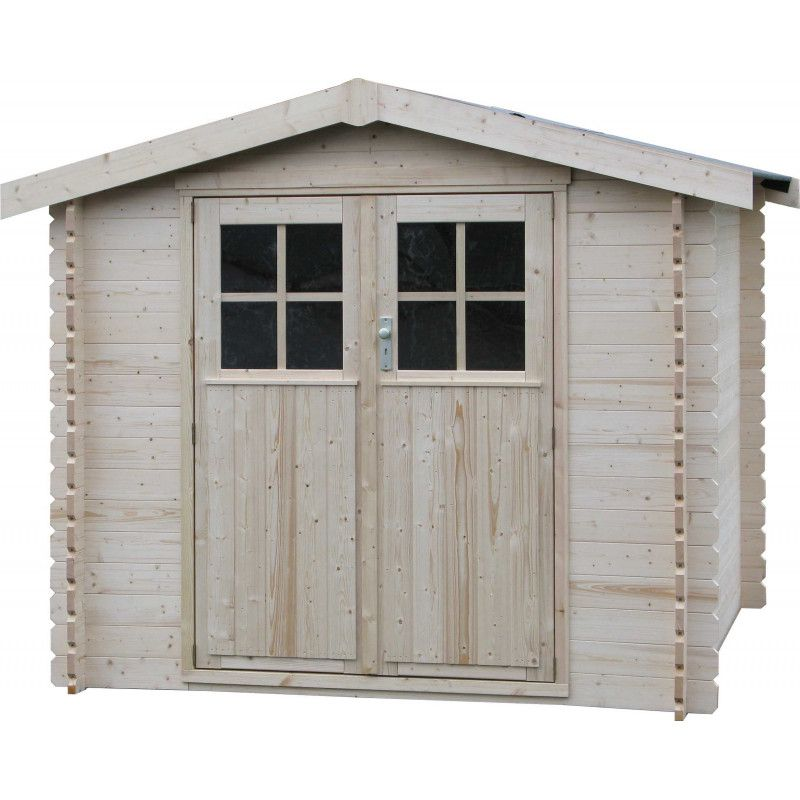 Caseta de madera Mistral 5,45m²