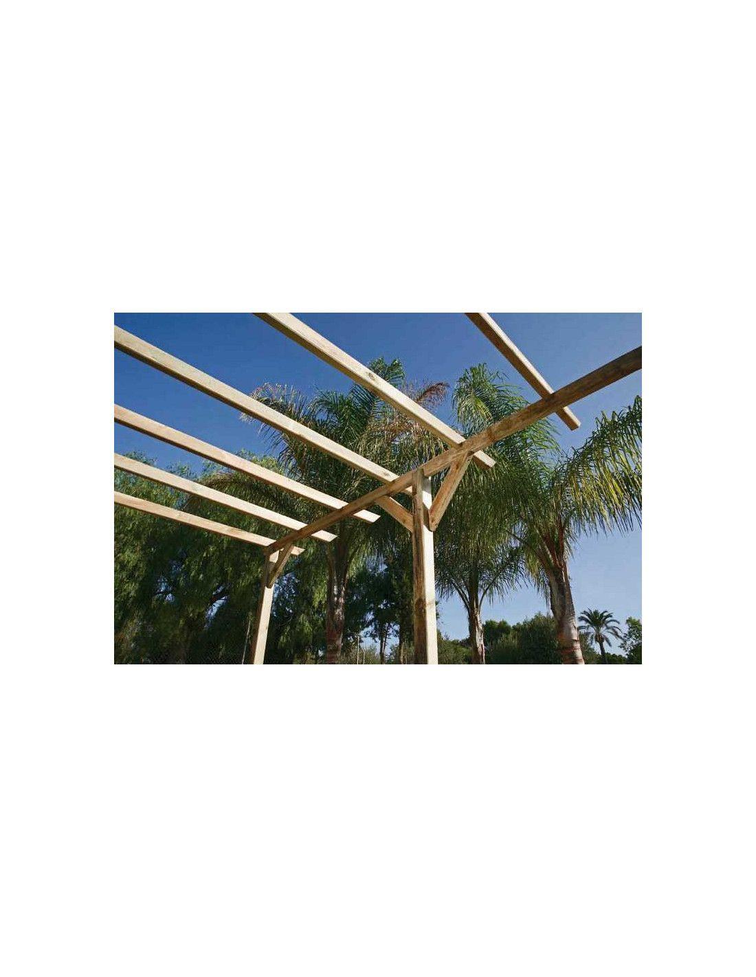 P rgola de madera 7 5 m - Accesorios para pergolas ...