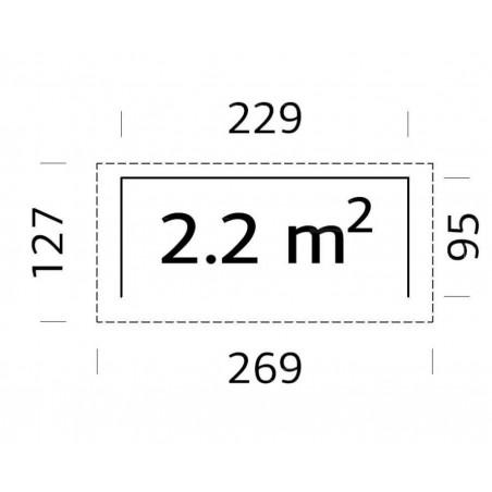 Ragnar 2, 16 mm, 229 x 95 cm