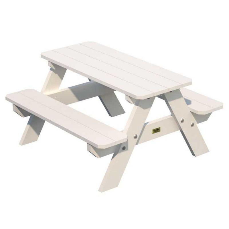 Mesa picnic infantil 90 x 80 x 50 cm