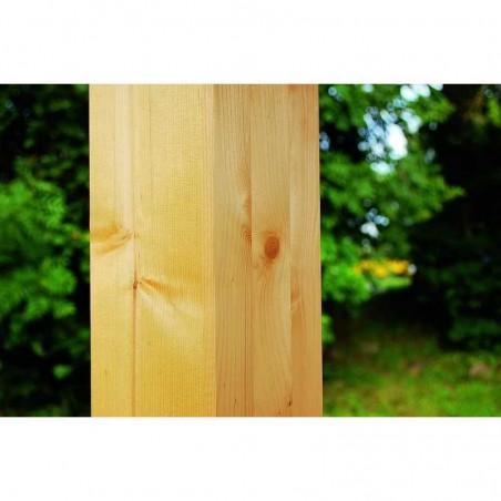 Postes de madera laminada