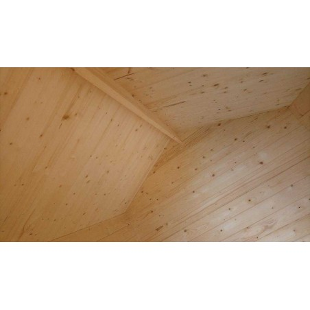 Interior caseta de madera Finnland - Palmako