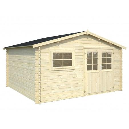 Caseta de madera Palmako - 12m²