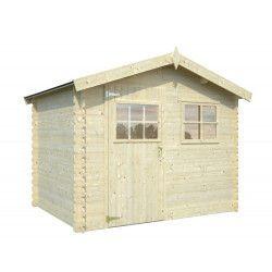 Oferta especial - Caseta de madera Makro 19 mm, 260 x 260 cm, 6.76 m²