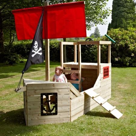 Casita infantil Barco Pirata 272 X 171 X 206 cm